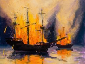 Burning your ships: A classic motivator