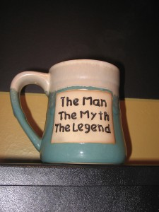 The mug that started it all.
