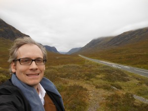 Hi, I'm Chris Orcutt. I'll be your narrator. This is me in the Great Glen, Scotland.