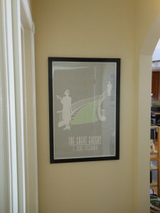 THE GREAT GATSBY print by Litographs.