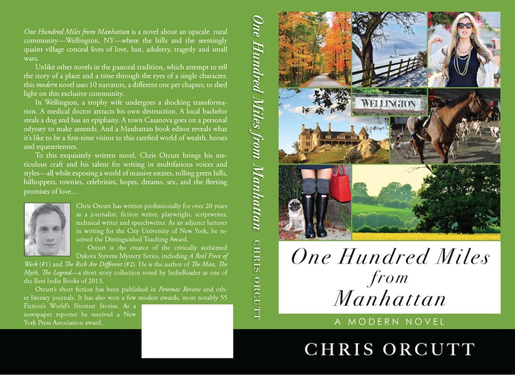 Cover of ONE HUNDRED MILES FROM MANHATTAN paperback.