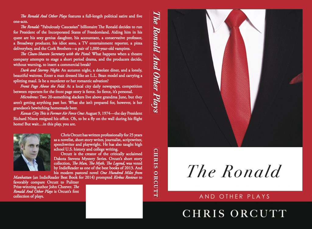 Print book cover for THE RONALD AND OTHER PLAYS.